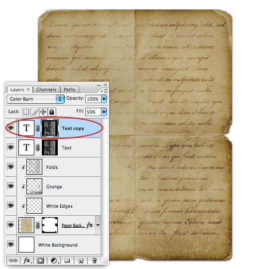 Creating Old Paper With Custom Brushes | Graphic Design | PSHERO
