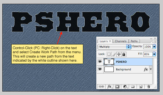 Text In Stitches | Text Effects | PSHERO