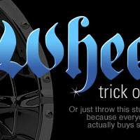 The Wheels Text Effect