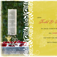 A Simple Wedding Invitation