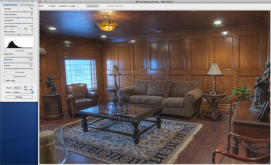 The first look at our HDR image