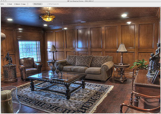 The Detail Enhanced Image
