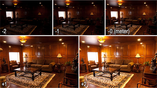 The 5 Photos for this HDR Tutorial